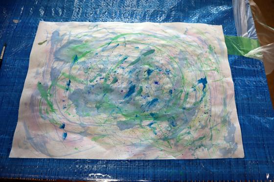 やと子ども美術教室 ~ 水を描く ~_e0222340_15262420.jpg