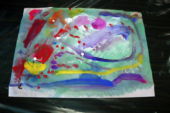 やと子ども美術教室 ~ 水を描く ~_e0222340_15271178.jpg