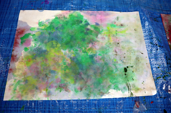 やと子ども美術教室 ~ 水を描く ~_e0222340_15274570.jpg