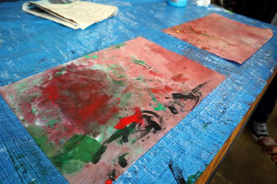 やと子ども美術教室 ~ 水を描く ~_e0222340_15281133.jpg