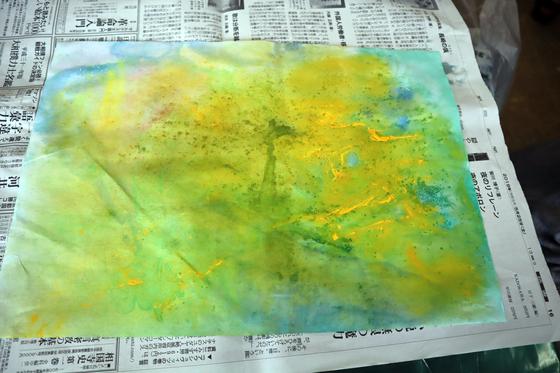 やと子ども美術教室 ~ 水を描く ~_e0222340_15282689.jpg