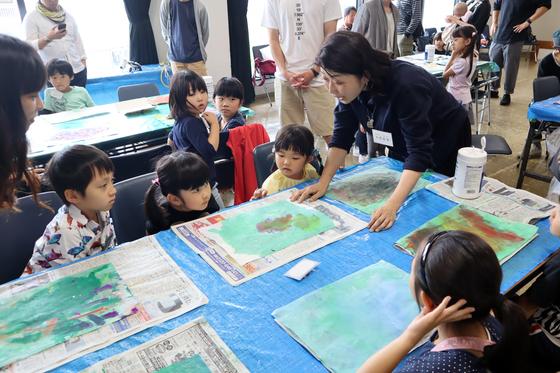 やと子ども美術教室 ~ 水を描く ~_e0222340_15301215.jpg