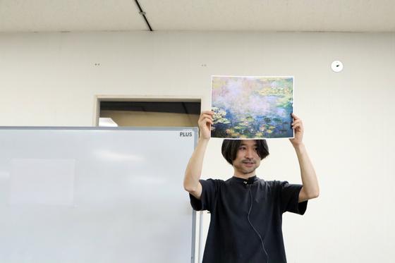 やと子ども美術教室 ~ 水を描く ~_e0222340_1584486.jpg