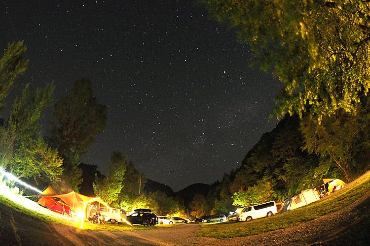 【キャンプ場レポート】グリーンパークふきわれ ③ ~天の川と新緑編_b0008655_18044933.jpg