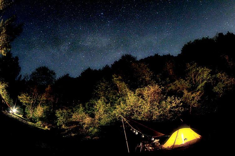 【キャンプ場レポート】グリーンパークふきわれ ③ ~天の川と新緑編_b0008655_18053565.jpg