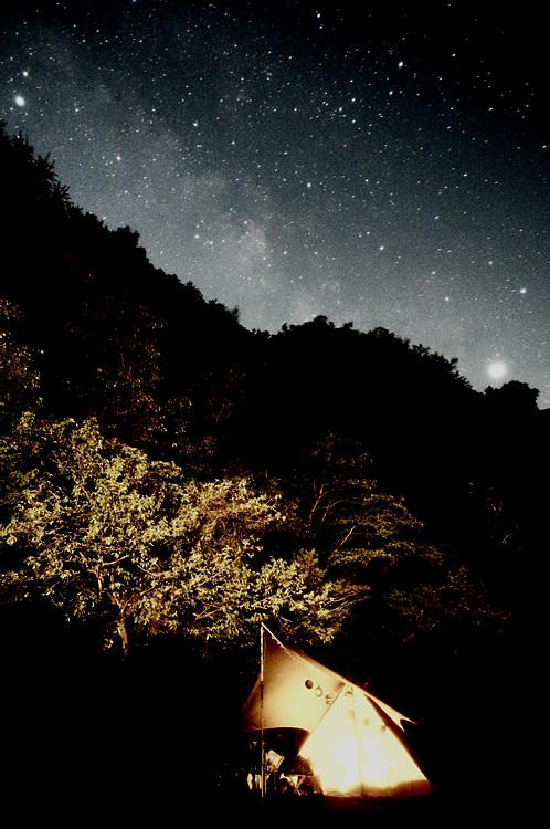 【キャンプ場レポート】グリーンパークふきわれ ③ ~天の川と新緑編_b0008655_18064805.jpg