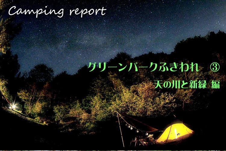 【キャンプ場レポート】グリーンパークふきわれ ③ ~天の川と新緑編_b0008655_18315146.jpg