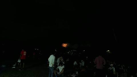 マラソンイベントで、花火があがったよ~_f0043559_19474022.jpg