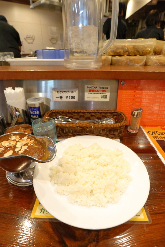カリカル 新橋本店で、印度カレーを食べる_a0077663_17073983.jpg