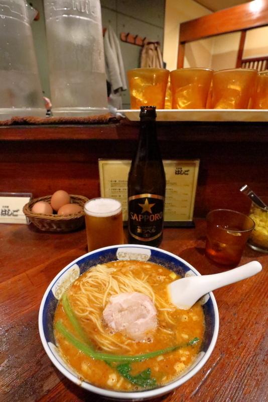 支那麺 はしごで、担々麺~_a0077663_17490250.jpg
