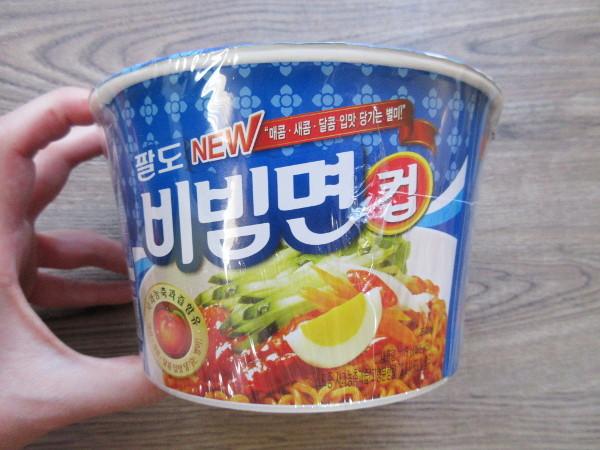 【パルド】パルドビビン麺(カップ麺)_c0152767_19564376.jpg