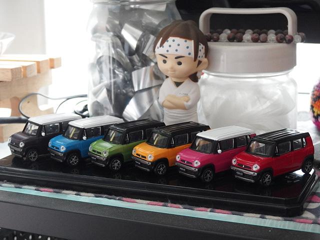 ハスラーのミニカー、ガチャなど おもちゃまとめ_b0006870_21213793.jpg