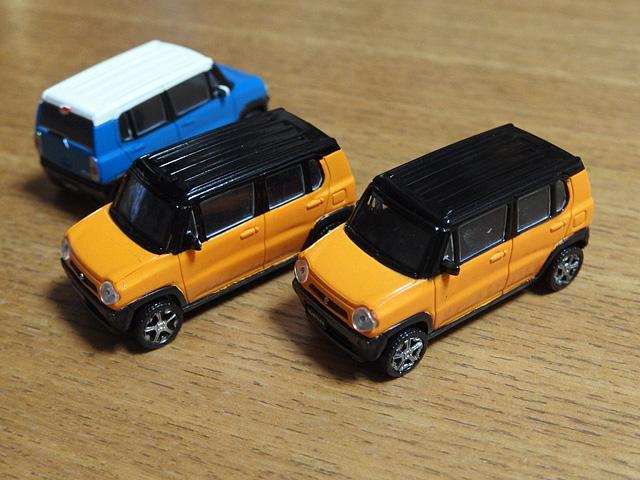 ハスラーのミニカー、ガチャなど おもちゃまとめ_b0006870_2122673.jpg