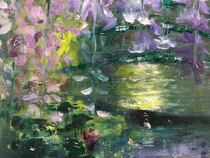 藤の花(油絵)_e0233674_08093076.jpg