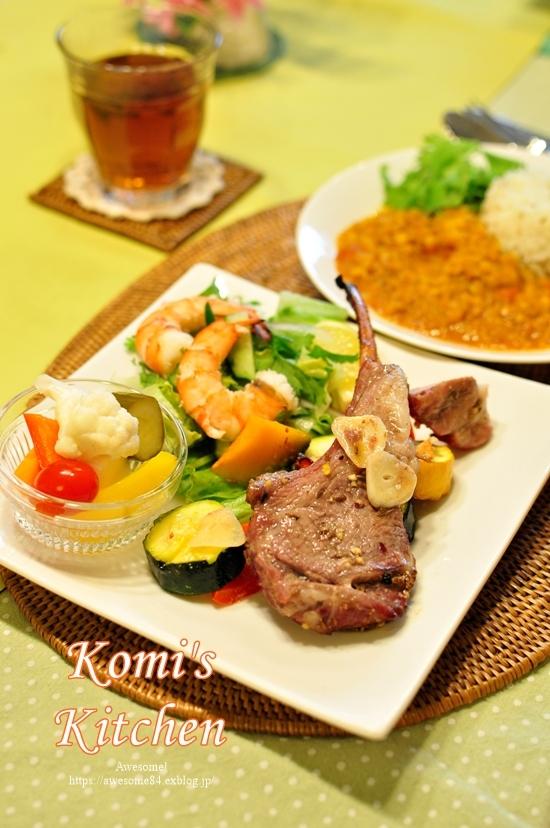 今月のおいしいテーブル@Komi\'s Kitchen_e0359481_11573893.jpg