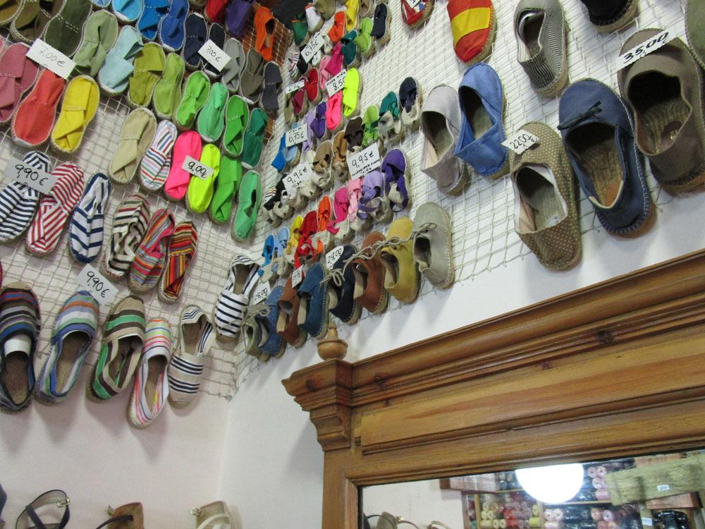 マドリッドの老舗靴店ーやっと使用!!_c0179785_23160027.jpg