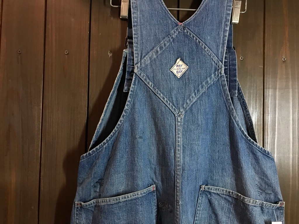 マグネッツ神戸店 6/12(水)Vintage入荷! #4 Vintage Work OverAll !!!_c0078587_20085337.jpg