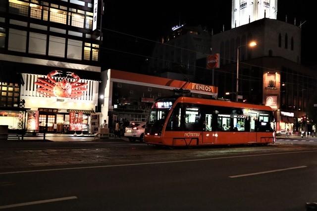 観光の町松山@松山の夜と昼、綺麗な街並み松山市・・・坊ちゃん列車と路面電車_d0181492_00051891.jpg