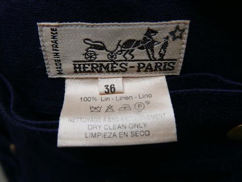 Hermes linen skirt_f0144612_21071859.jpg
