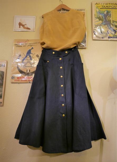Hermes linen skirt_f0144612_21071876.jpg