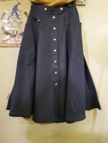 Hermes linen skirt_f0144612_21071889.jpg