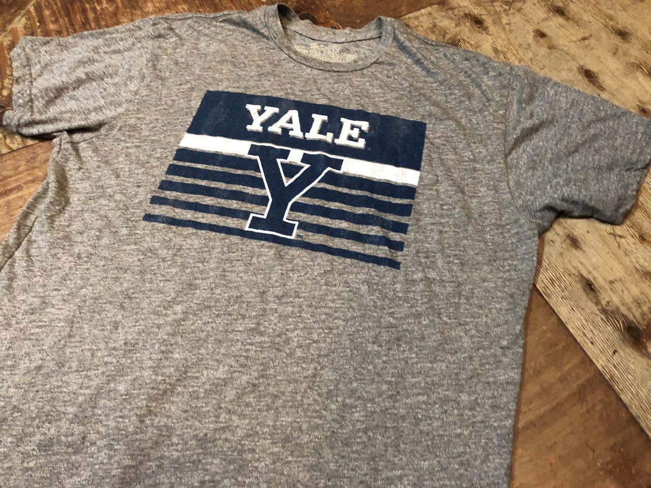 6月10日(月)入荷! MADE IN U.S.A YALE大学 Tシャツ!_c0144020_14453910.jpg