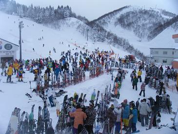 湯沢 スキー 場 ガーラ