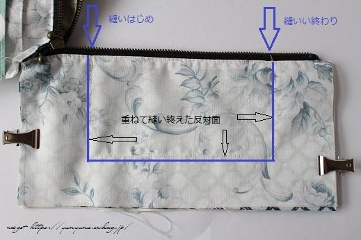 ファスナー2つで仕立てる『双子ポーチ』の作り方レシピ紹介♪_f0023333_22132078.jpg