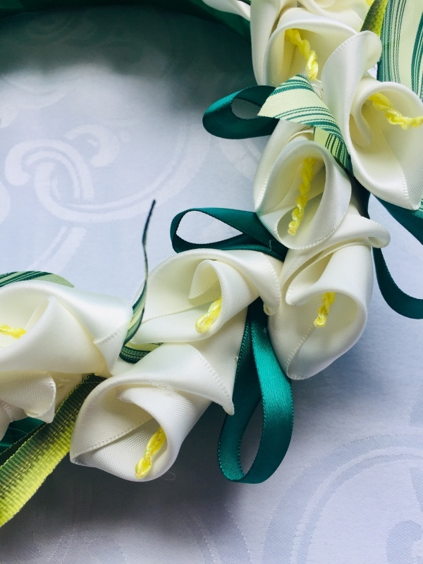 Calla Lily Wreath  カラーリリーリース_c0196240_08424666.jpeg