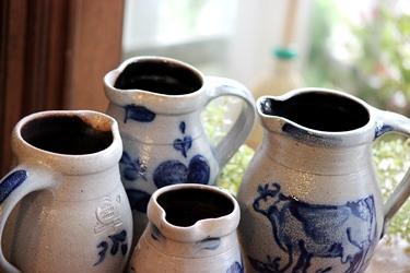 Rowe Pottery の牛のデザインのポタリー_f0161543_13521773.jpg