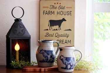 Rowe Pottery の牛のデザインのポタリー_f0161543_13525331.jpg