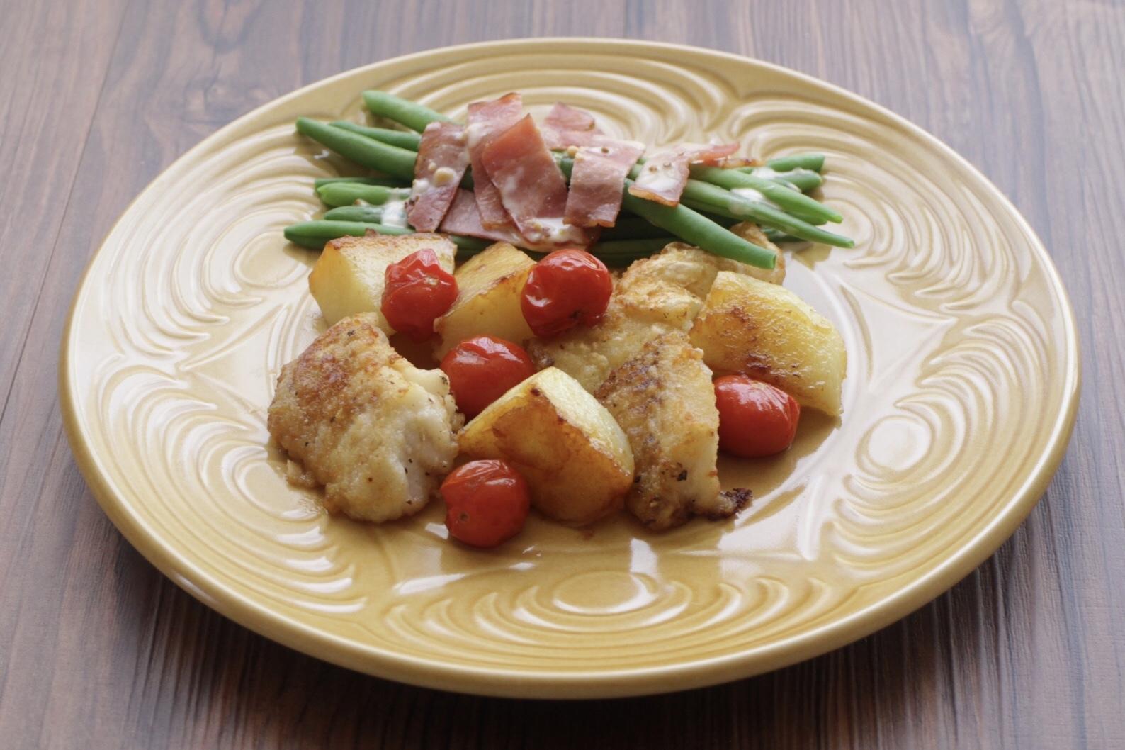 タラとトマトとジャガイモのソテー_f0220354_15152756.jpeg