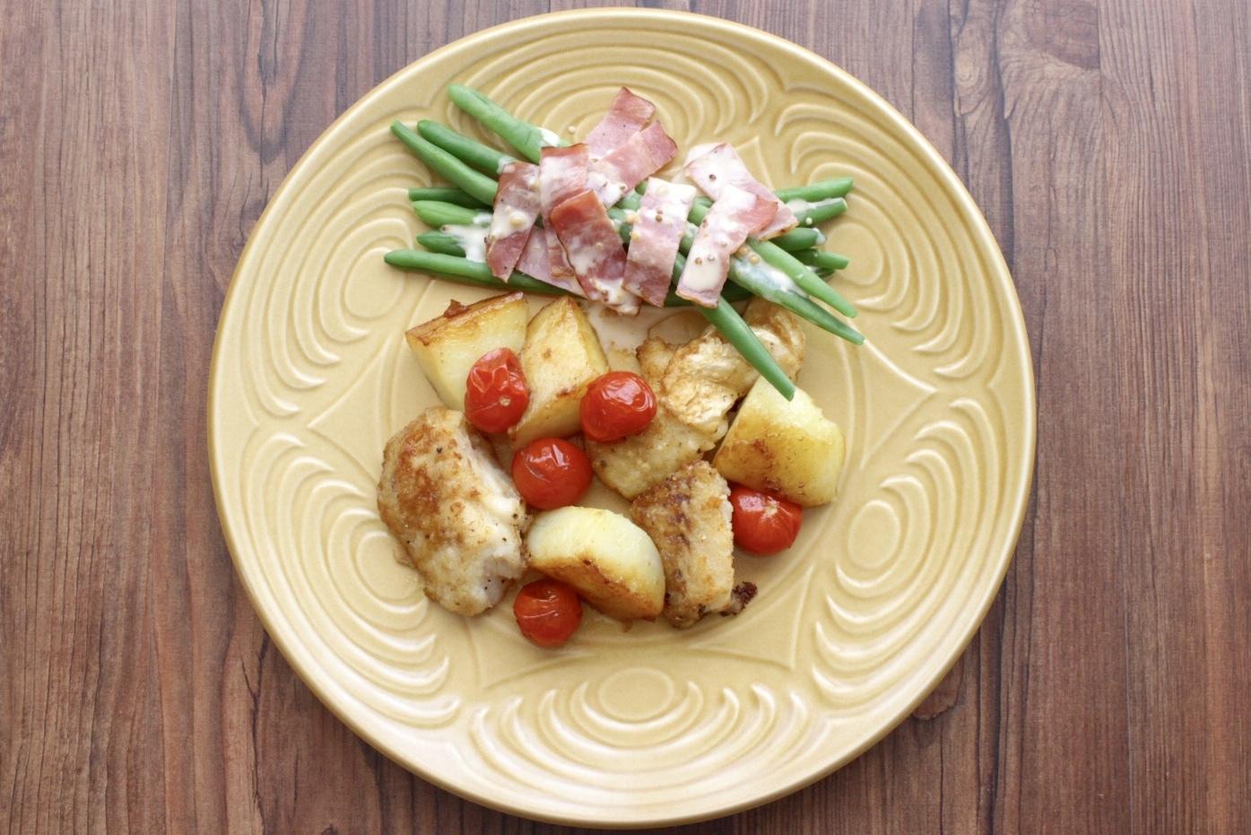 タラとトマトとジャガイモのソテー_f0220354_15154126.jpeg
