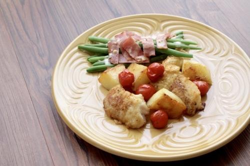 タラとトマトとジャガイモのソテー_f0220354_15155672.jpeg