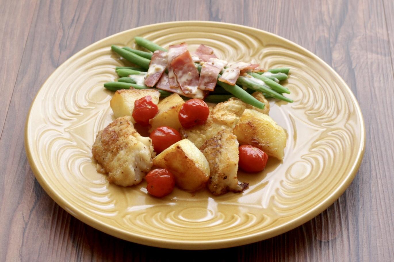 タラとトマトとジャガイモのソテー_f0220354_15165497.jpeg