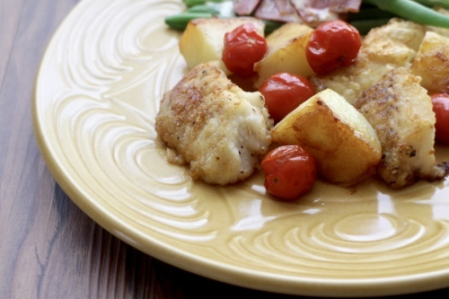 タラとトマトとジャガイモのソテー_f0220354_15170733.jpeg
