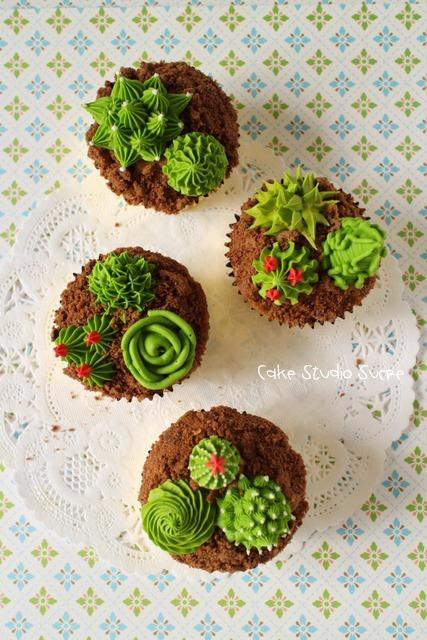 【募集中】サボテンのカップケーキ _e0111355_17460249.jpg