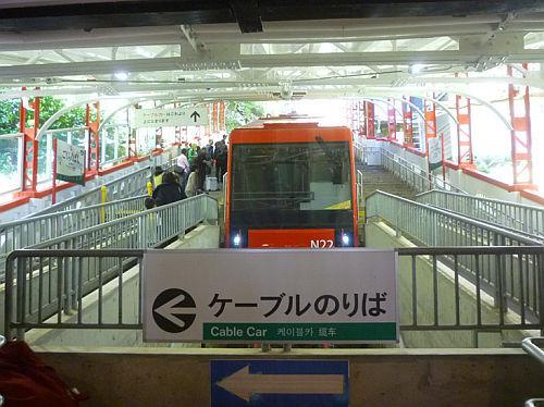 駅 「ステーションラリー」レポート/極楽橋駅_e0254365_18372036.jpg