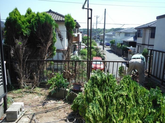 小工事 ~ 植木伐採他_d0165368_03291278.jpg
