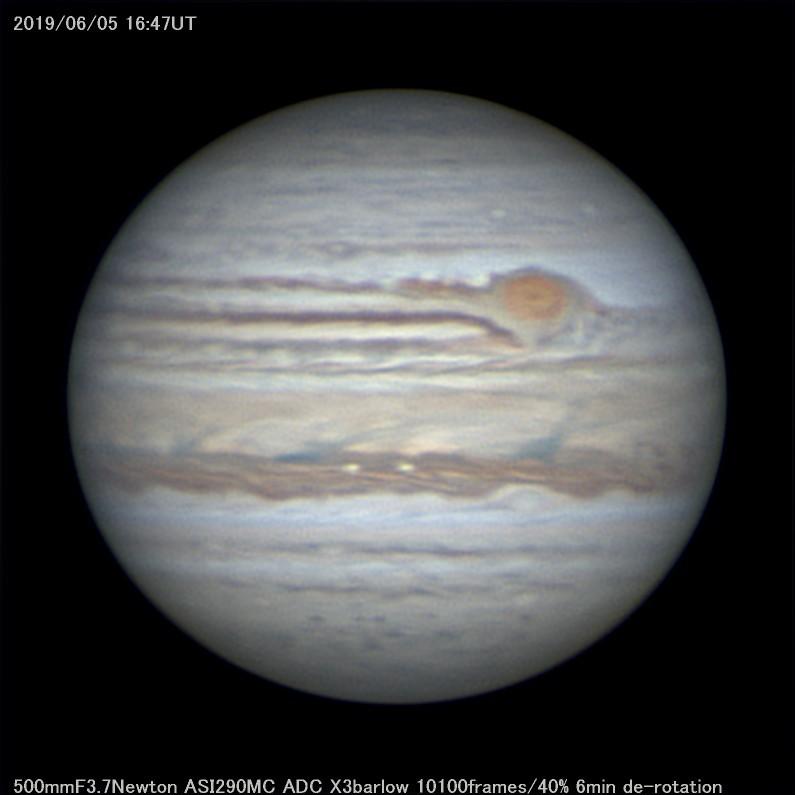 土砂降りなので木星画像を再処理してみた_a0095470_00510603.jpg
