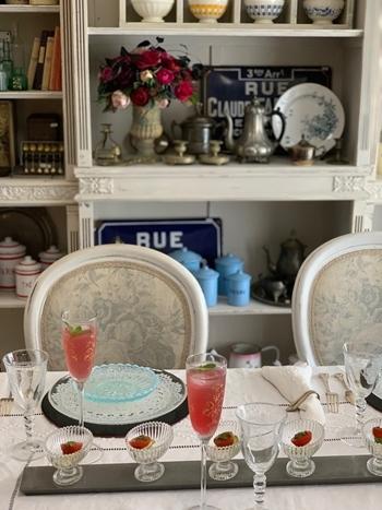 マリーアントワネット気分で。hidamari 初夏のテーブルとフランス式ティーパーティー_e0237680_11294382.jpg
