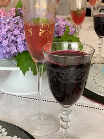 マリーアントワネット気分で。hidamari 初夏のテーブルとフランス式ティーパーティー_e0237680_11341901.jpg