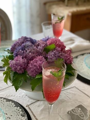マリーアントワネット気分で。hidamari 初夏のテーブルとフランス式ティーパーティー_e0237680_11345285.jpg