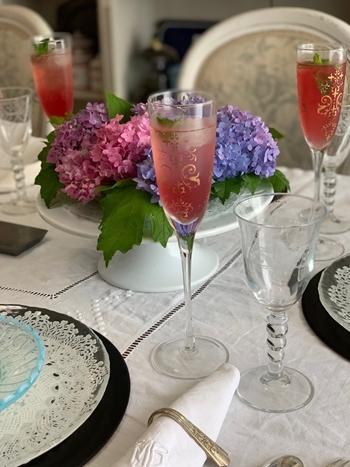 マリーアントワネット気分で。hidamari 初夏のテーブルとフランス式ティーパーティー_e0237680_11345315.jpg