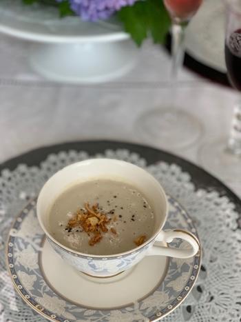 マリーアントワネット気分で。hidamari 初夏のテーブルとフランス式ティーパーティー_e0237680_11345354.jpg