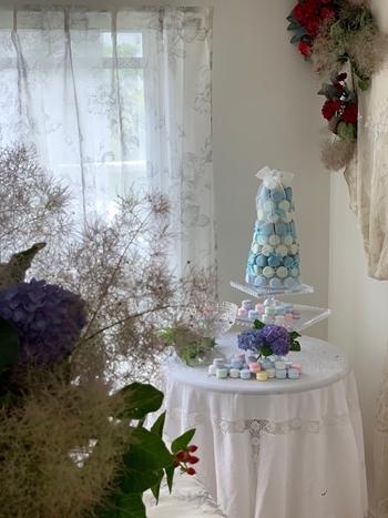 マリーアントワネット気分で。hidamari 初夏のテーブルとフランス式ティーパーティー_e0237680_11383103.jpg