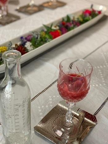 マリーアントワネット気分で。hidamari 初夏のテーブルとフランス式ティーパーティー_e0237680_11422982.jpg