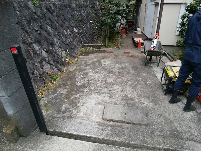 2018.3 駐車場改修工事他_e0029584_10191110.jpg