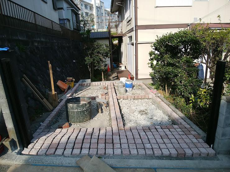 2018.3 駐車場改修工事他_e0029584_10200054.jpg