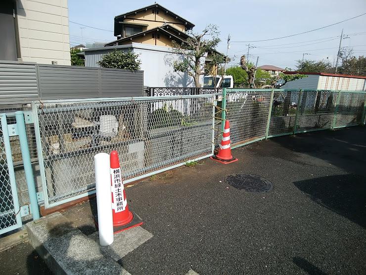 2018年3月 金網ネットフェンス補修工事_e0029584_10271525.jpg